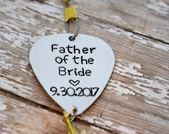 Handmade Stamped Fishing Lure -Father of the Bride - Personalized Wedding Date*Fisherman*Personalized Lure*Wedding Gift*