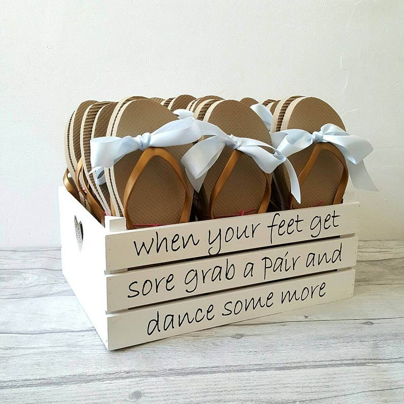 59f4c9b6461dfe Wedding shoes box dancing shoes flip flop box for weddings