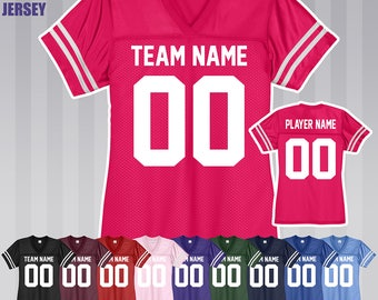 personalized children's football jersey