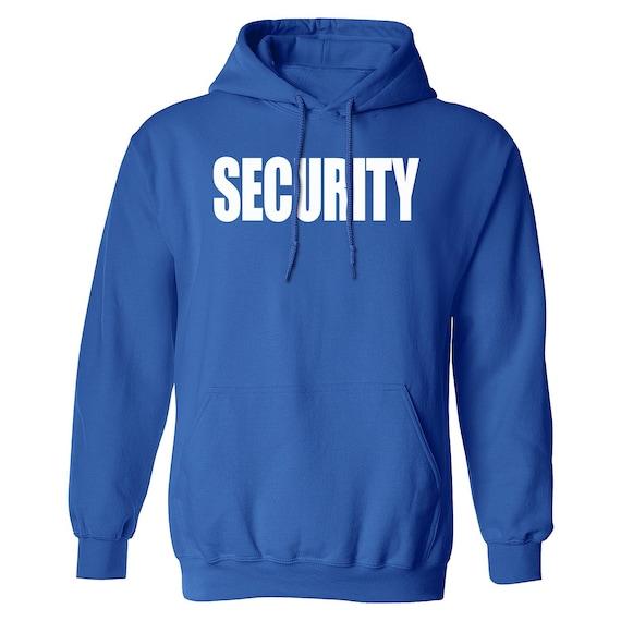 Costume Hoodie Security Uniform  Unisex Hoodies Sweater