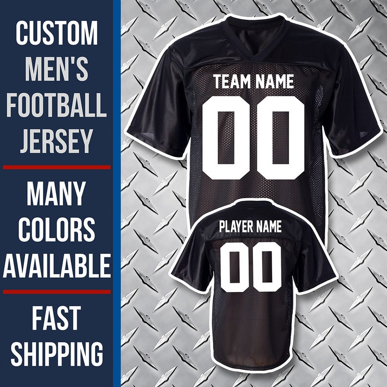 Custom Football Jersey   Lightweight Fan Jerseys   S to 3XL    02f0afbfb