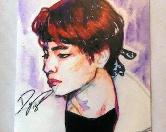 BTS Colorburst V Art Print