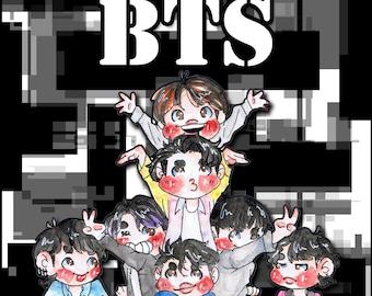 KPOP BTS Mystery Bag