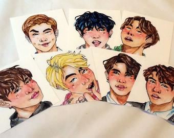 BTS Story Print Set