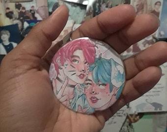 KPOP BTS Jikook Pinback Button