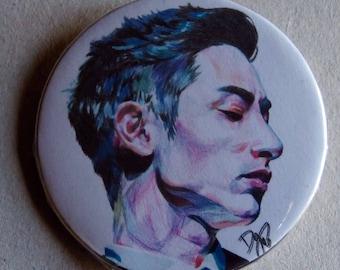 Lee Soo Hyuk Pinback Button