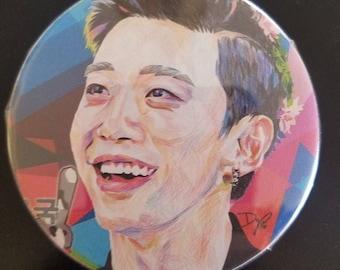 B.A.P Kpop Pinback Buttons