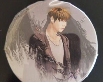 BTS Angel/Demon Kpop Pinback Buttons