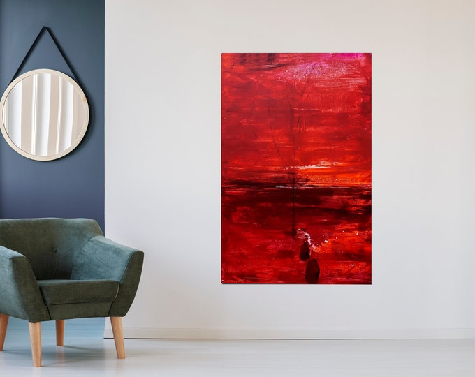 Featured listing image: red pictures 160 x 100 cm