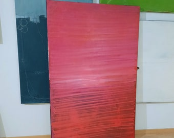 red pictures 160 x 100 cm