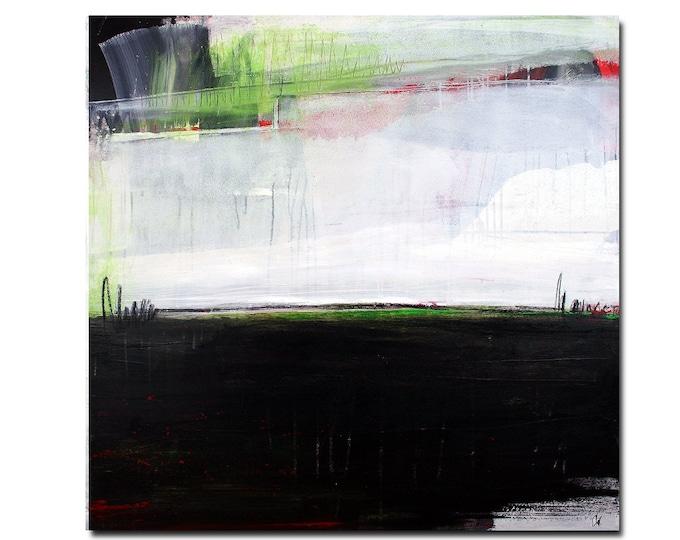 schwarz weißes Bild malen lassen / Wunschmaß