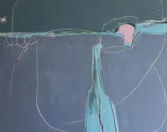 Bruchstücke - 120 x 120 cm