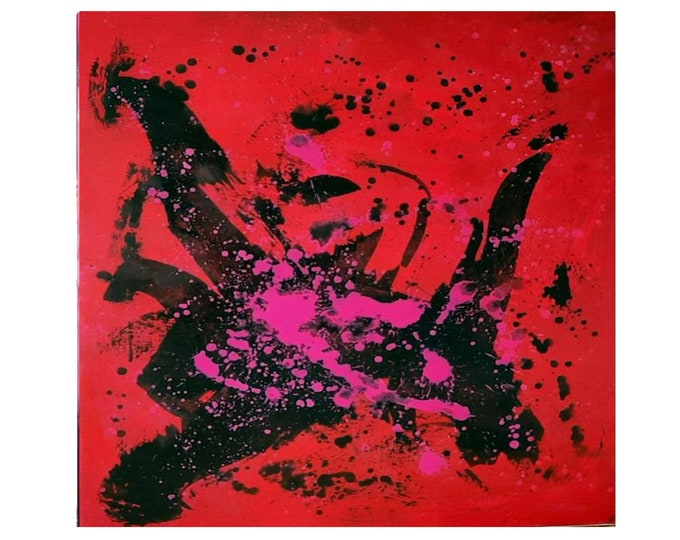 red large pictures / dance sport / 110 x 130 cm
