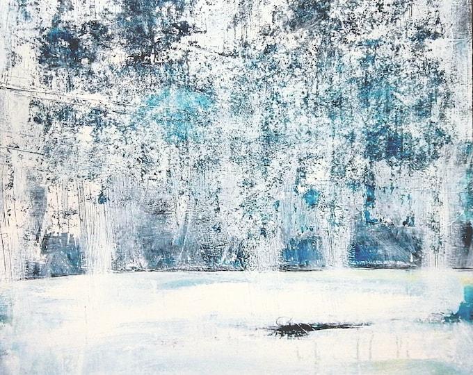 Winterwald 120 x 90 cm