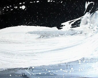 Unikat: Im Sog unserer Zeit - 120 x 80 cm