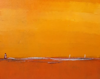 abstract pictures orange lighthouse