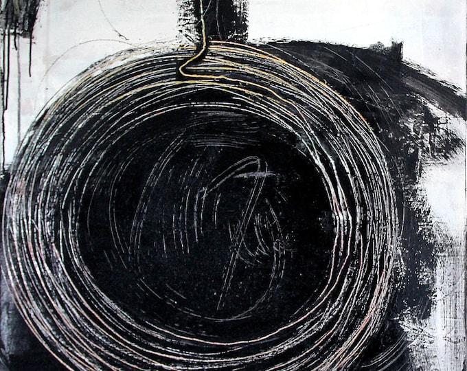 Featured listing image: Titel: Hamsterrad - 80 x 80 cm