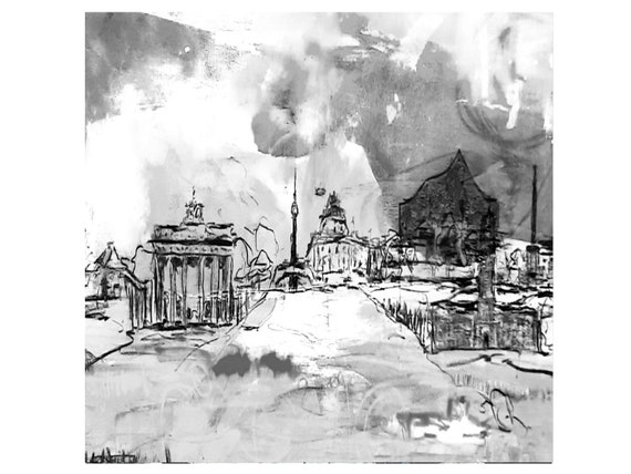 Order Cities Painting / Desired Measure