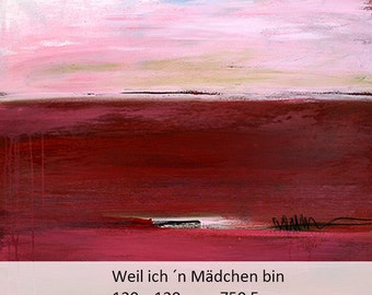 Abstract painting modern paintings pictures abstract red pictures-Landscape