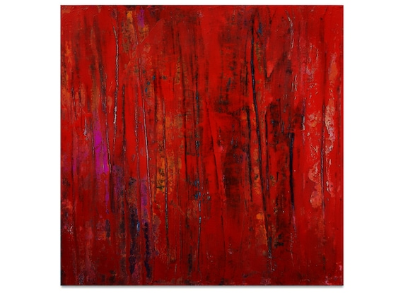 red abstract images xxl / view / 100 x 120
