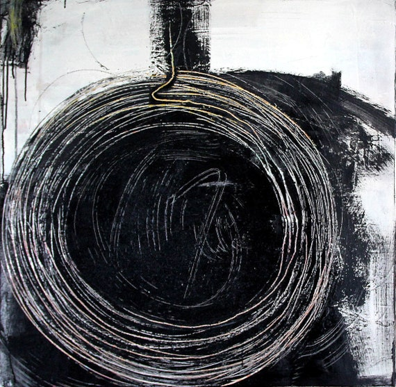 Titel: Hamsterrad - 80 x 80 cm