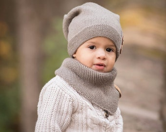 Knitted Kids Slouchy Hat 6d2895d976b