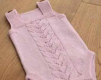 8a1a0586c539 Knit baby romper