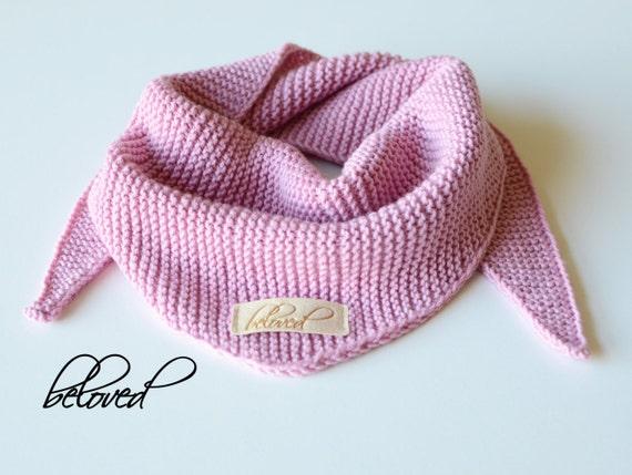 82c0d7ad8e03 Écharpe tricotée de filles enfant en bas âge fille tricot   Etsy