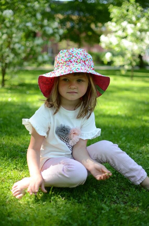 d307dbd2695 Toddler Girl Summer Hat Girls Cotton Hat Toddler Girl Sun