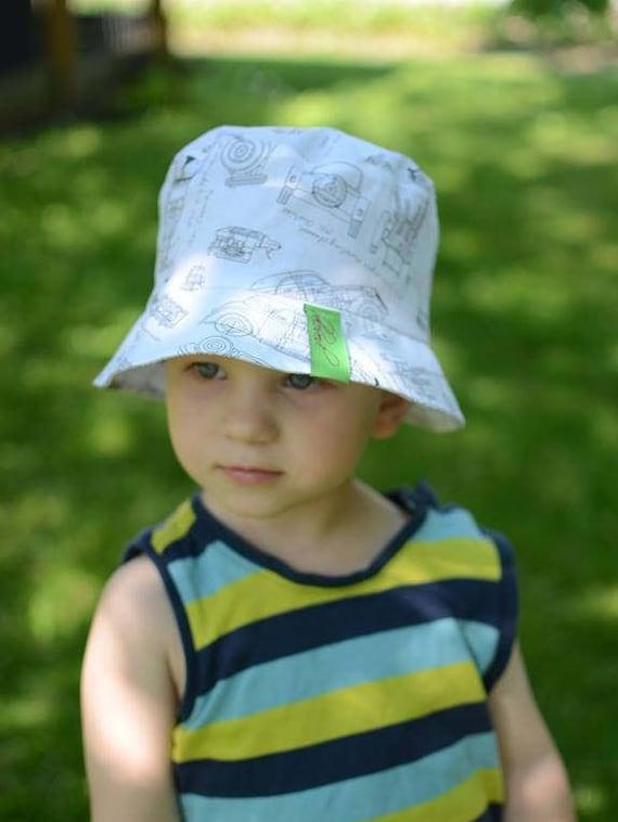 Baby Boy Bucket Hat Toddler Boy Sun Hat With Brim Cotton  233681a3bfb