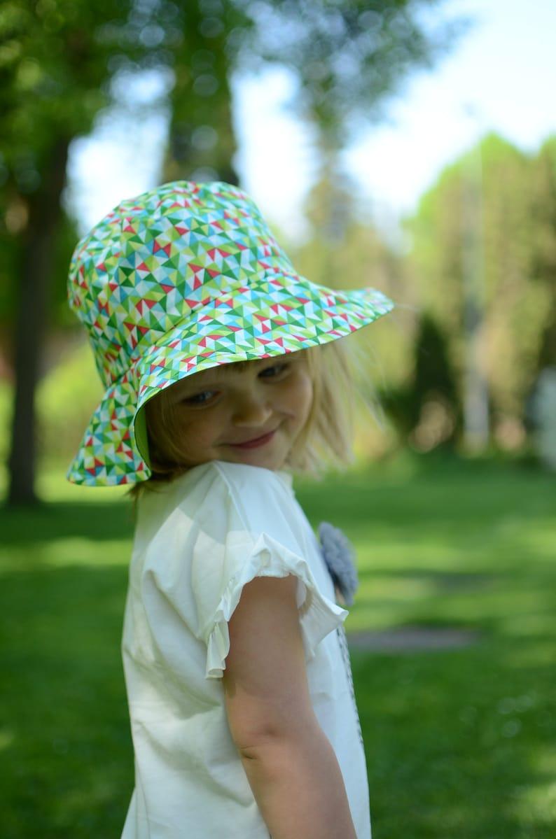 ed19c08b31e Girls Summer Hat With Brim Kids Summer Hat Toddler Girl Sun