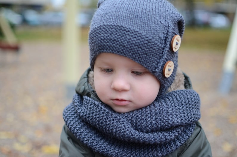 Knit Kids Slouchy Beanie Toddler Boy Slouchy Beanie Boys  053b37dc6a6