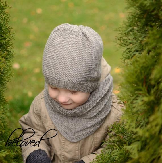 36b4c73ec4b5 Chapeau enfant en bas âge tricoté chapeau de garçons filles   Etsy