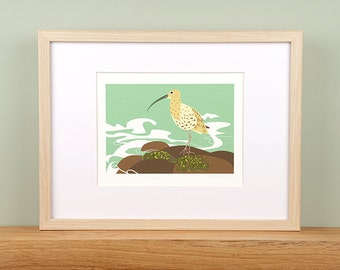 Curlew by the Sea Giclée Print - Limited Edition
