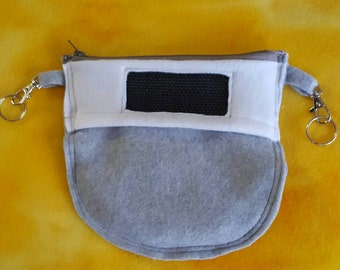 Sugar glider zippered bra pouch