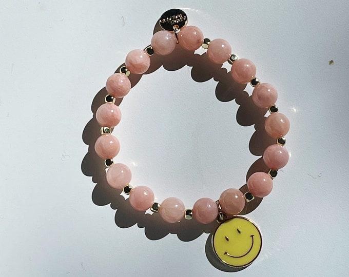 HAPPY yellow bracelet by April & Cloud