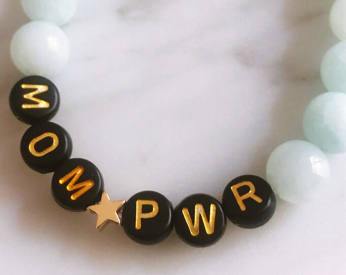 MOM PWR Bracelet Dyed Jade