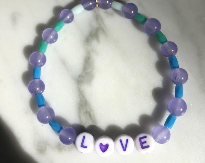 LOVE Bracelet by April & Cloud