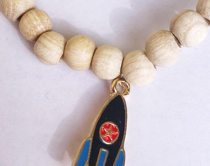Bracelet with Rocket for Boys