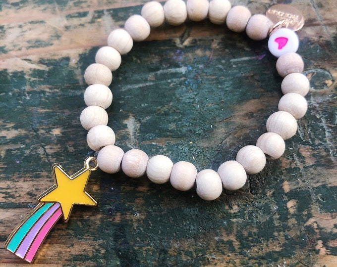 Children's bracelet shooting star