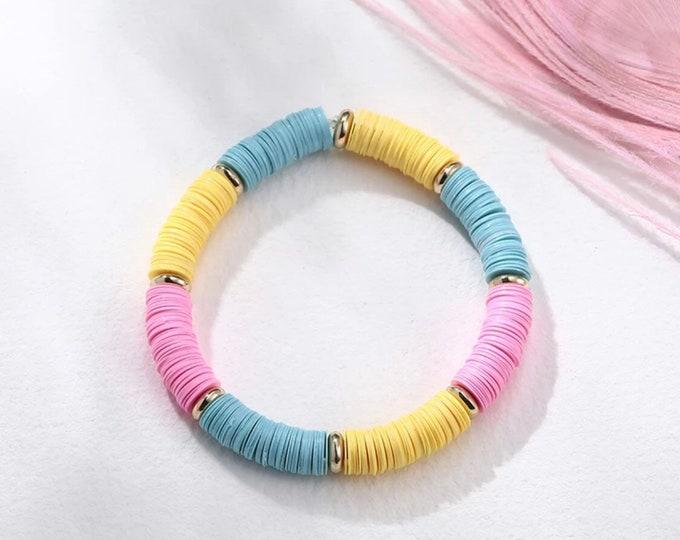 Colorful boho bracelet by April & Cloud