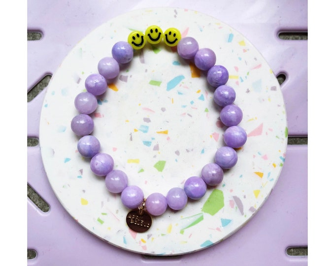 SMILEY Bracelet by April & Cloud