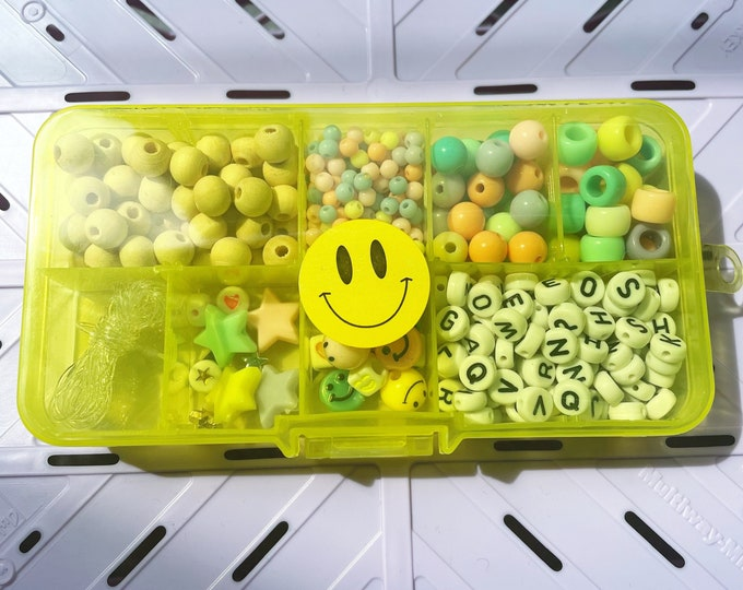 SMILEY Beads Craft Box for Kids by April & Cloud