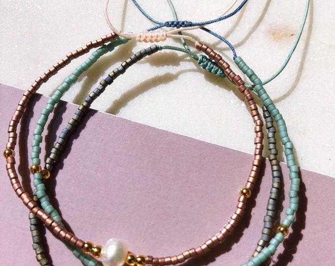 Delicate Myuki Beaded Bracelet