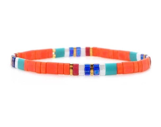 "Bracelet boho ""orange"""