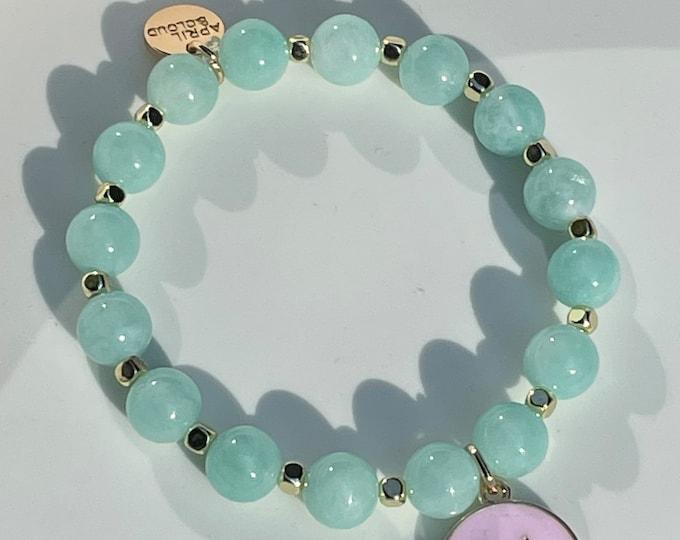 Turquoise Bracelet by April & Cloud