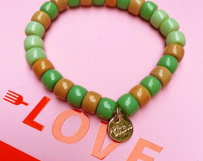 SOHO green Bracelet by April & Cloud