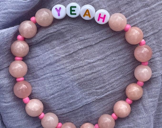 YEAH Bracelet by April & Cloud