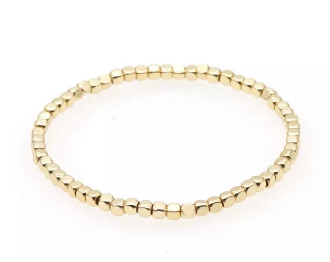 Golden Nugget Bracelet by April & Cloud