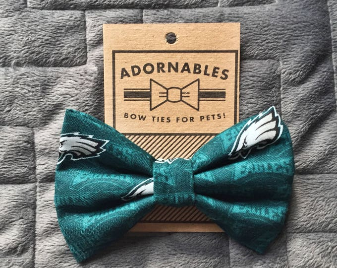 E*A*G*L*E*S eagles! Bow Tie for Dog, Bow Tie for Cat,  dog accessories, cat accessories, pet accessories, eagles fans